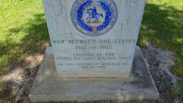 War Between the States Memorial Marker (2) by OddGarfield