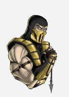 Scorpion Bust by Ronniesolano