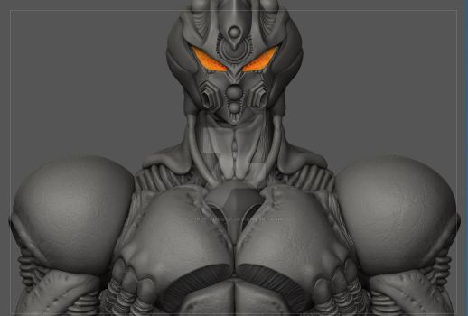 Guyver1 F1RST D1SC1PLE WIP2 12 4 13 by F1RST-DISCIPLE