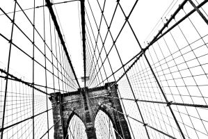 Brooklyn Bridge by Solarstones