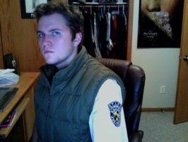 Chris Redfield Costume WIP by IrishWastrel