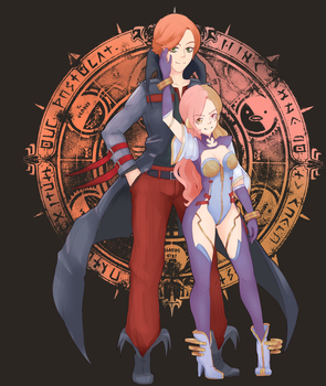 Shadow Hearts Neo and Roman by Koudellka