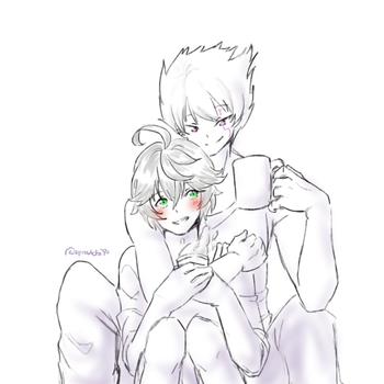 More Mochi x Lusa by AbyssmalReader
