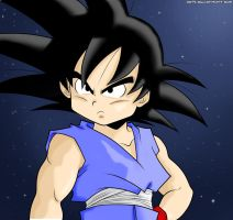 Kid Goku by jamesy1991
