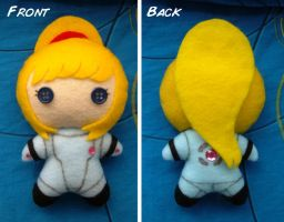 Zero Suit Samus Plushie v.2 by Red-Flare