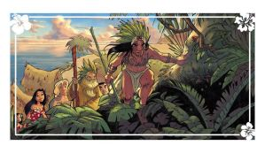 Panel of Thalulaa : lanscape by Ood-Serriere