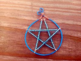 Water pentacle WIP by WyckedDreamsDesigns