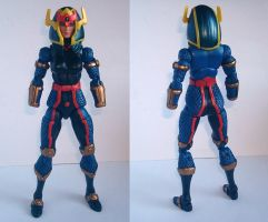 Barda - Earth 2 [WIP 4] by DarkTailss