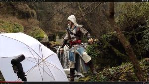 Backstage Photoshooting Video - Edward Kenway Cos by LeonChiroCosplayArt