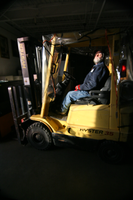Glance from Forklift Operator by nivek67