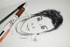 Frank Iero in Pen by dis3ased