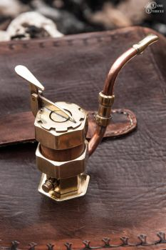 Steampunk Tobacco Pipe For Nobleman by Tharrk