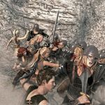 Battle at Inanna's Crossing by Bad-Dragon
