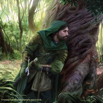 Damrod Lord of the Rings TCG by 1oshuart