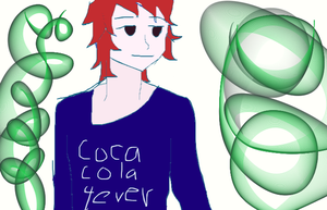 coca cola!! 4ever by justmeanime