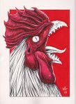 Monster Rooster by Morbidmic