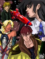 Heroes of Outlaw Star by ZeroEnd