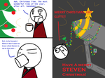 Have a Merry Steven Christmas Part 1 by Kiwiwarrior