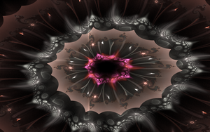 creative styled fractal plate by Andrea1981G