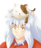Buyo and Inuyasha by ticibr
