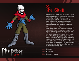 Nintober 051. The Skull by fryguy64