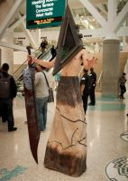 Pyramid Head - Comikaze by EriTesPhoto