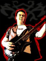 Me playing bass by McTwist