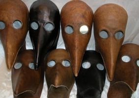 Plague Doctors by GriffinLeather