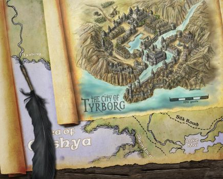 City Of Tyrborg by Djekspek