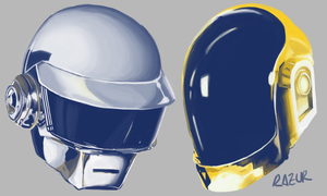 Daft Punk by Razur