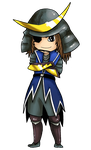Date Masamune Chibi by Foxbride