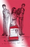 Sired or not? - the Blood Bag Test SKETCH by nackmu