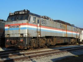 Amtrak E60CH 603 by rlkitterman