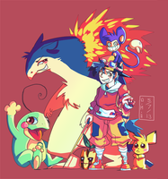 Pokemon by LadyKuki