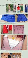 W.I.P - Kairi dress by Itakoo