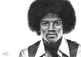 Michael Jackson 58-09 R.I.P by earlierbirdscenic