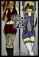 Sister Hate Book cover by TheLazyRulee