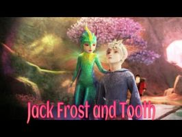 Jack Frost and Tooth by ShatteredStar123