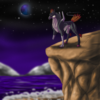 Request- Standing on the cliff by Narncolie