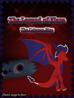 The Legend of Flaze - The Crimson Star cover by Crimson-Flazey