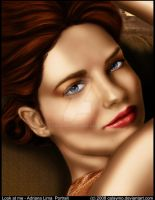 Look at me - Portrait V2 color by Calaymo