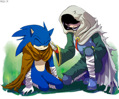 Sonic and Sin by General-RADIX