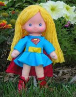 Supergirl custom Rainbow Brite doll by BabyDollLJ