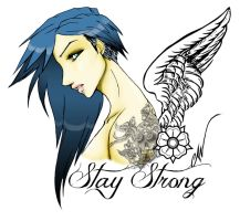 Stay Strong by Clarice04