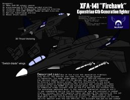 XFA-141 Equestrian 6th Generation fighter by PAK-FAace1234