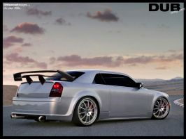 Chrysler 300C DUB Race series. by LittlewoodDesigns