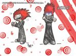 Chibi Whiney Axel. by Yorie