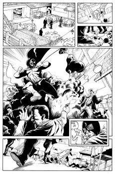 Dr. Mid-Nite Inks Pg 1 by craigcermak