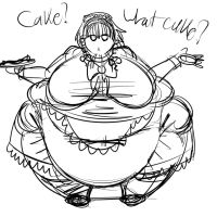 Some Fat Anime Girl by Metalforever