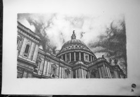 St. Paul's Cathedral by MartinMusox